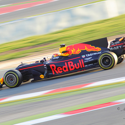 Red Bull Racing RB13, Canon EOS 60D, Canon EF 70-210mm f/4