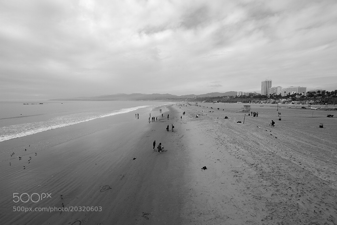 Photograph Santa Monica Beach by mattswen on 500px
