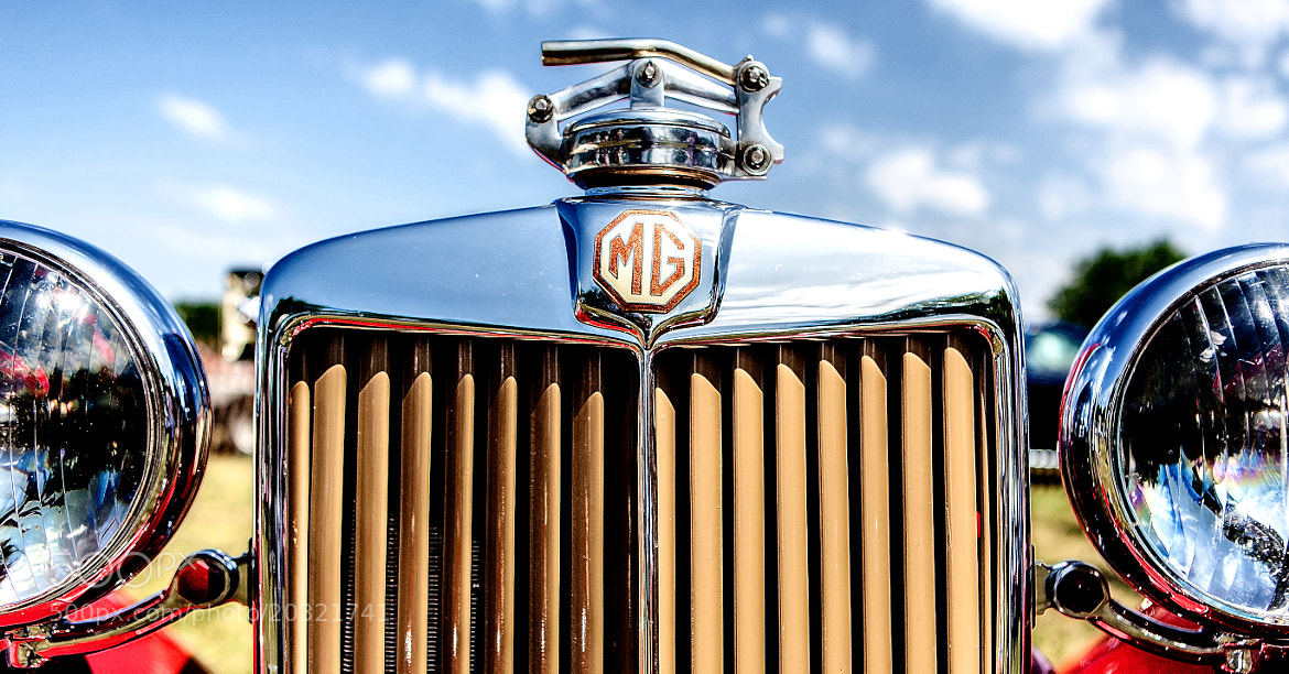 Photograph MG detail by marklevitz on 500px