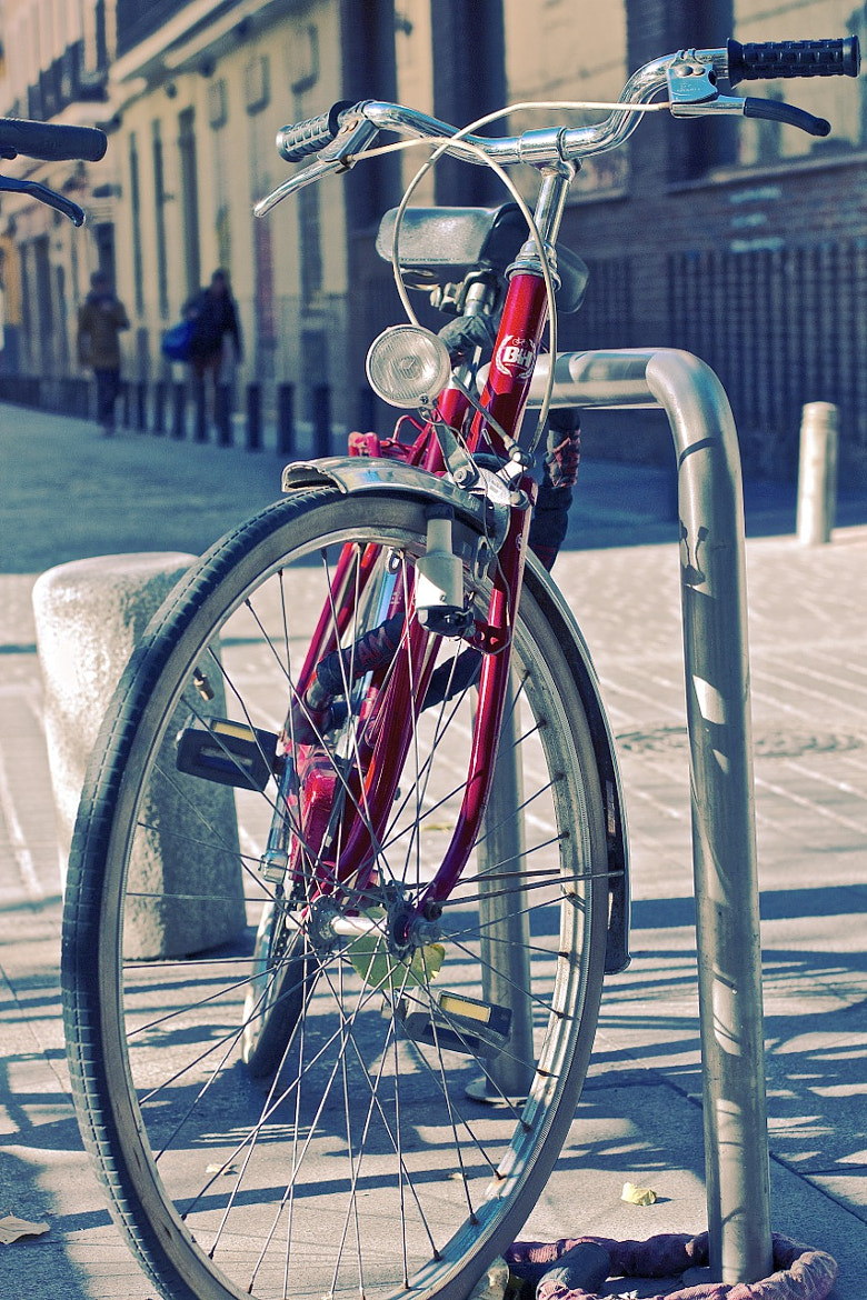 Photograph Bicycle, Madrid by Marco  Sousa on 500px