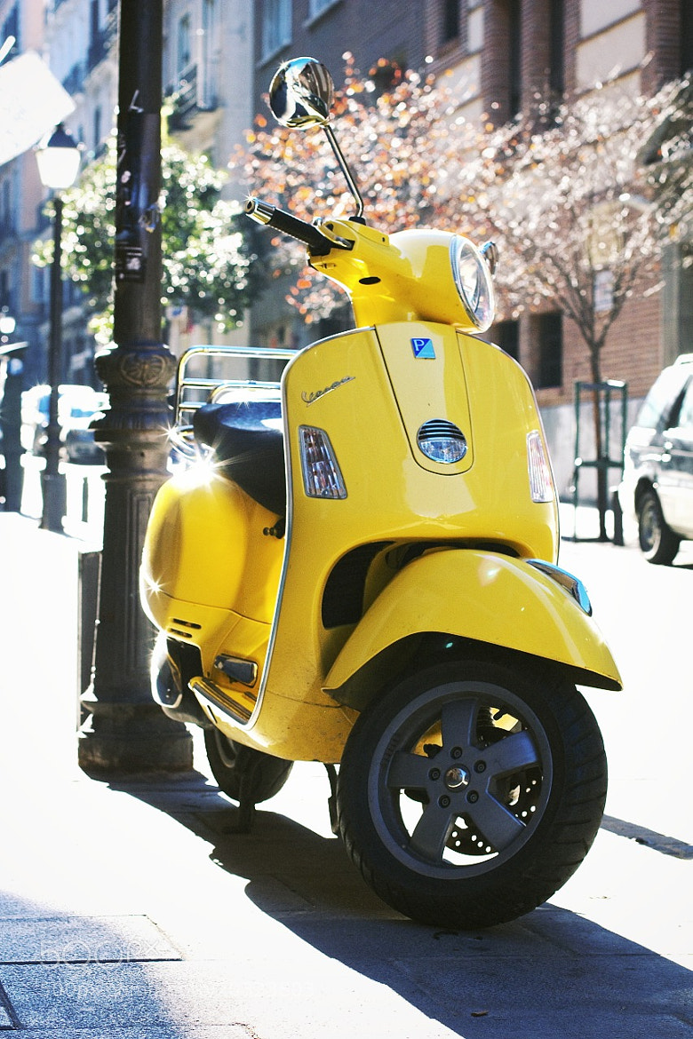 Photograph Vespa, Madrid by Marco  Sousa on 500px