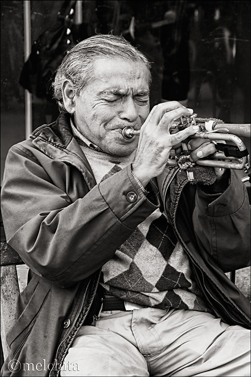 Photograph Trumpeter by Conchita Meléndez on 500px
