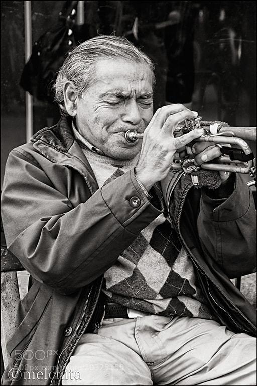 Photograph Trumpeter by Conchita Meléndez on 500px