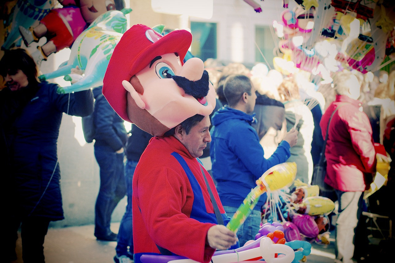 Photograph The real Mario, Madrid by Marco  Sousa on 500px