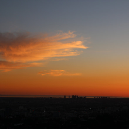 Los Angeles at sunset, Canon EOS 70D, TAMRON 16-300mm F/3.5-6.3 Di II VC PZD B016