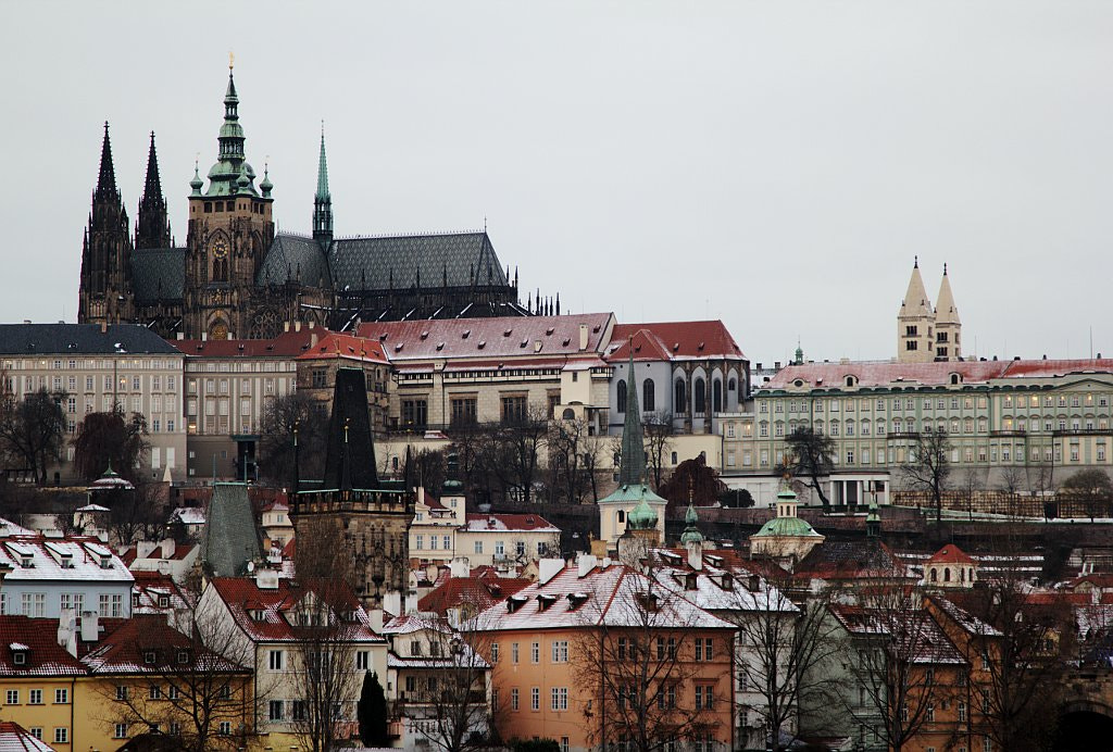 Photograph Prague castle after snow by 500px172 on 500px