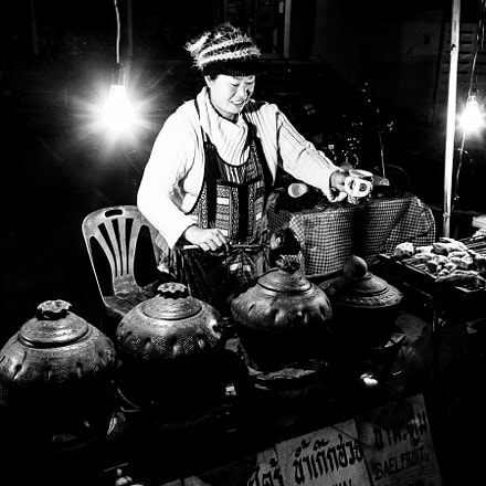 The traditional herbal drink, Canon EOS 5D, EF28-70mm f/2.8L USM
