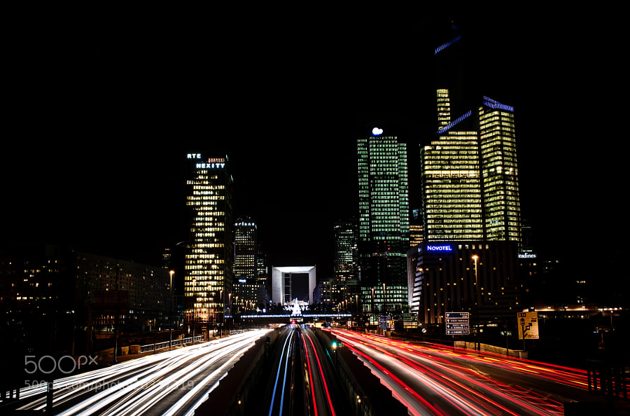 Photograph Paris La Defense by Erwan Alliaume on 500px