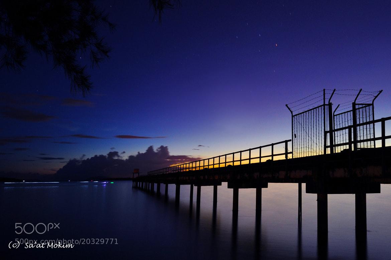 Photograph The Blue hour by Mohd Sa'at Haji Mokim on 500px