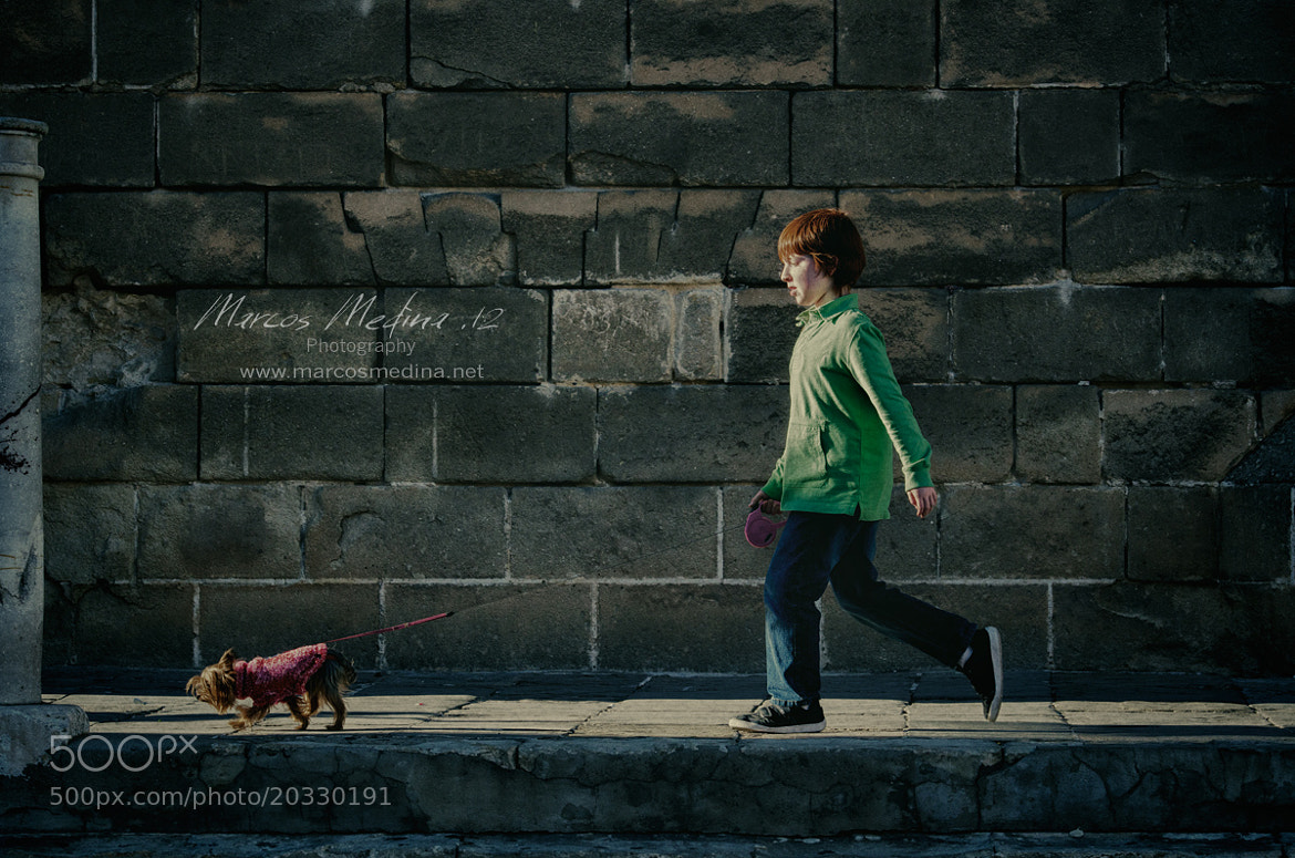 Photograph Walking the dog by Marcos Medina on 500px