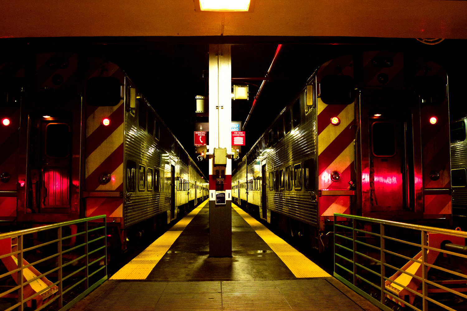 Photograph Train to Chicago by Ewa Rice on 500px