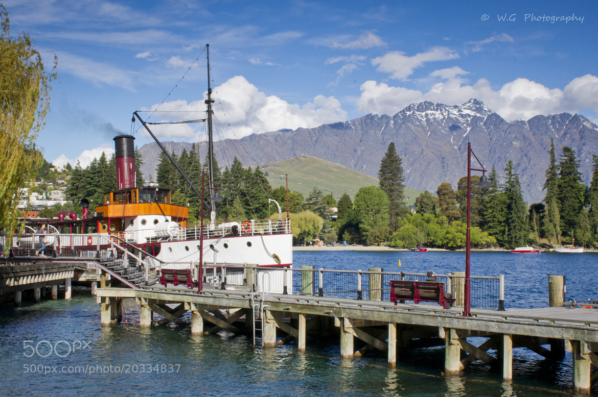 Photograph TSS Earnslaw by Guillaume Weber on 500px