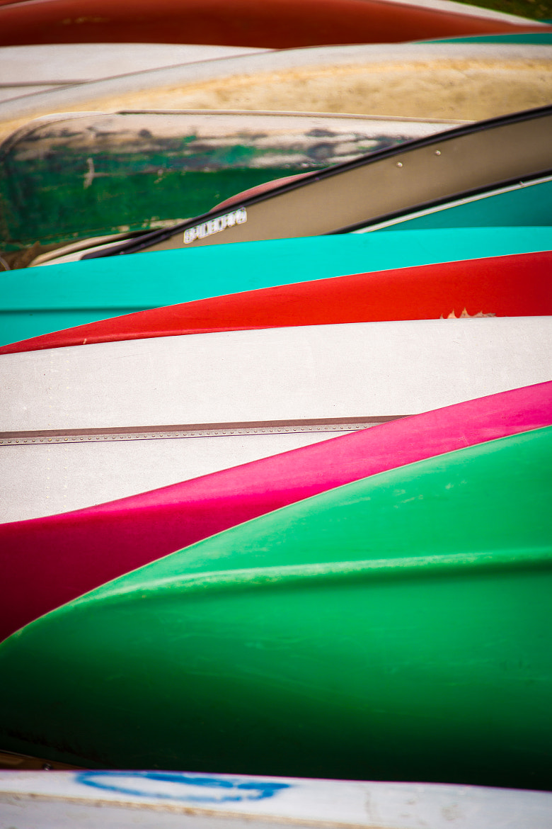 Photograph Canoes by Scott T.  Morrison on 500px