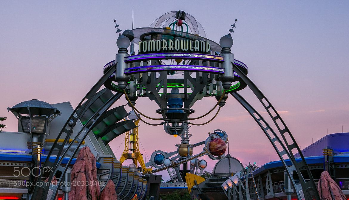 Photograph Tomorrowland Gateway by Kurt Miller on 500px