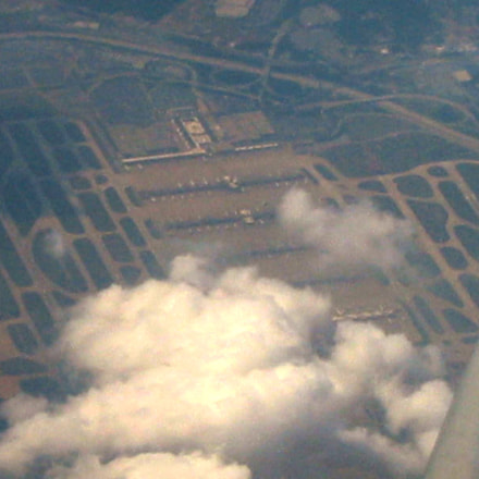 Atlanta airport fly over, Canon POWERSHOT A20