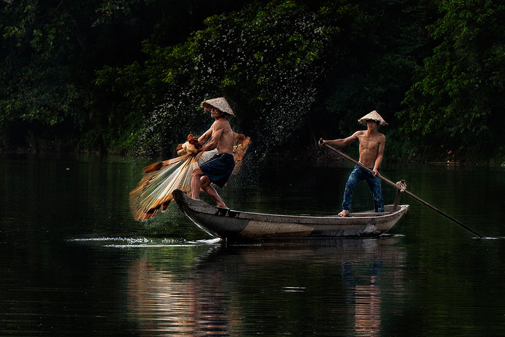 Photograph fishermen by Viet Hung on 500px