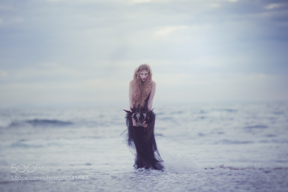 Photograph The Sea Goddess and the Raven by Emily  Soto on 500px