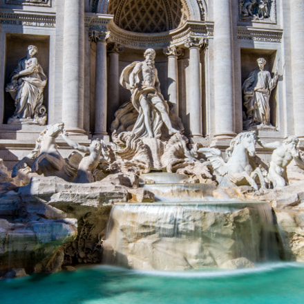 Trevi fountain, Sony ILCE-7RM2, Sony DT 50mm F1.8 SAM (SAL50F18)