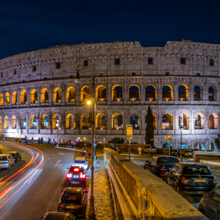 The Colosseum, Sony ILCE-7RM2, Sony DT 50mm F1.8 SAM (SAL50F18)