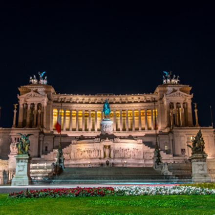 The Monumento Nazionale a, Sony ILCE-7RM2, Sony DT 50mm F1.8 SAM (SAL50F18)