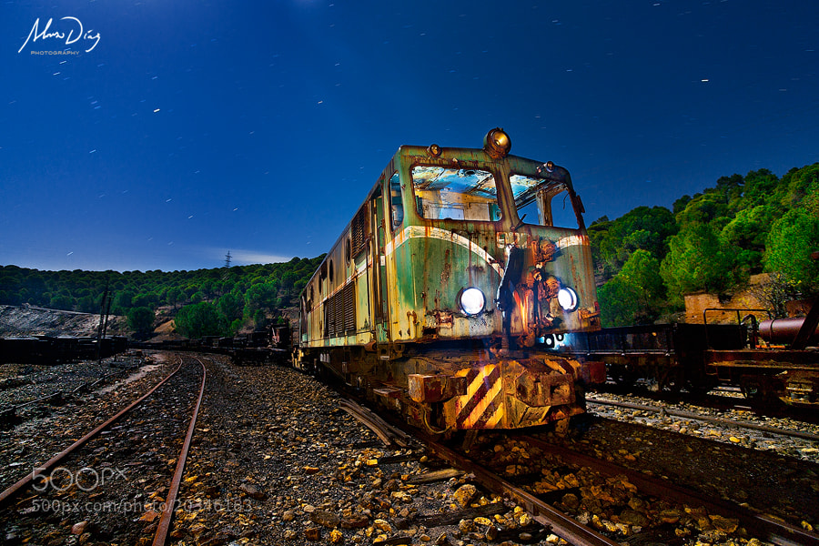 Photograph Midnight Express by Alonso Díaz on 500px