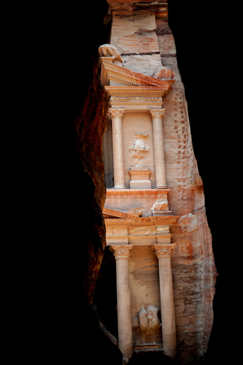 Photograph Treasury Building/Petra by Dr Russell H. Chatoor on 500px