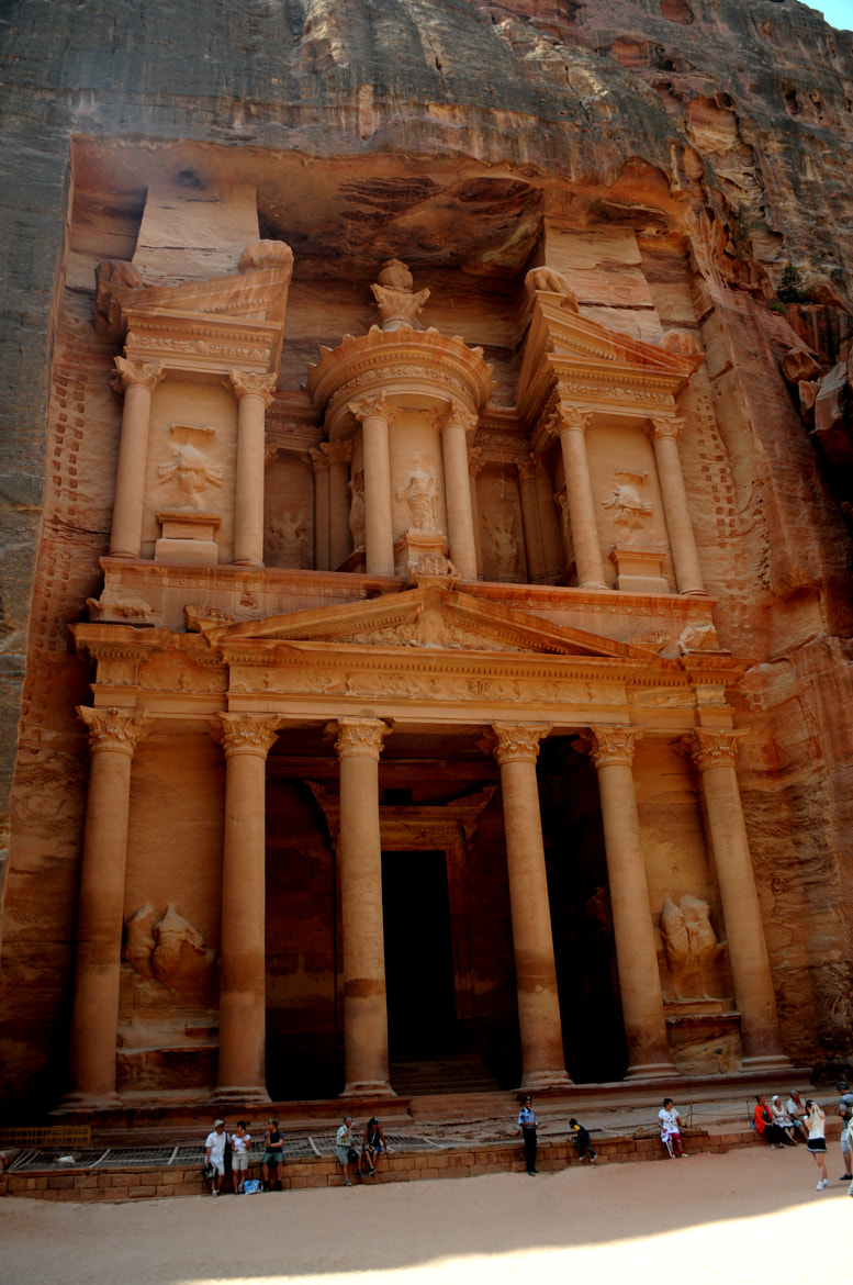 Photograph Treasury Building/Petra, Jordan by Dr Russell H. Chatoor on 500px