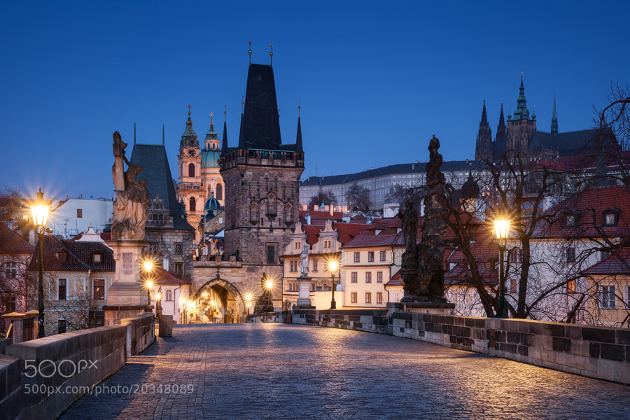 Photograph Prague Blues by Michael  Breitung on 500px