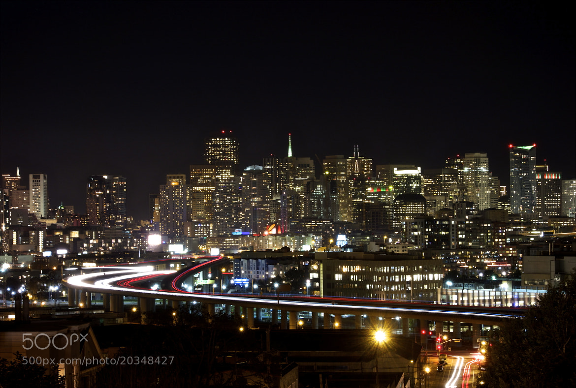 Photograph San Francisco Skyline at Night by Greg Pless on 500px