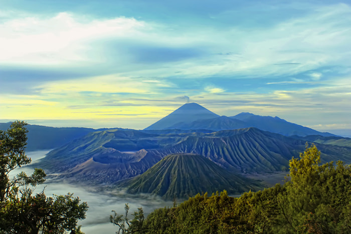 Photograph volcano dawn by Arief Hidayat on 500px