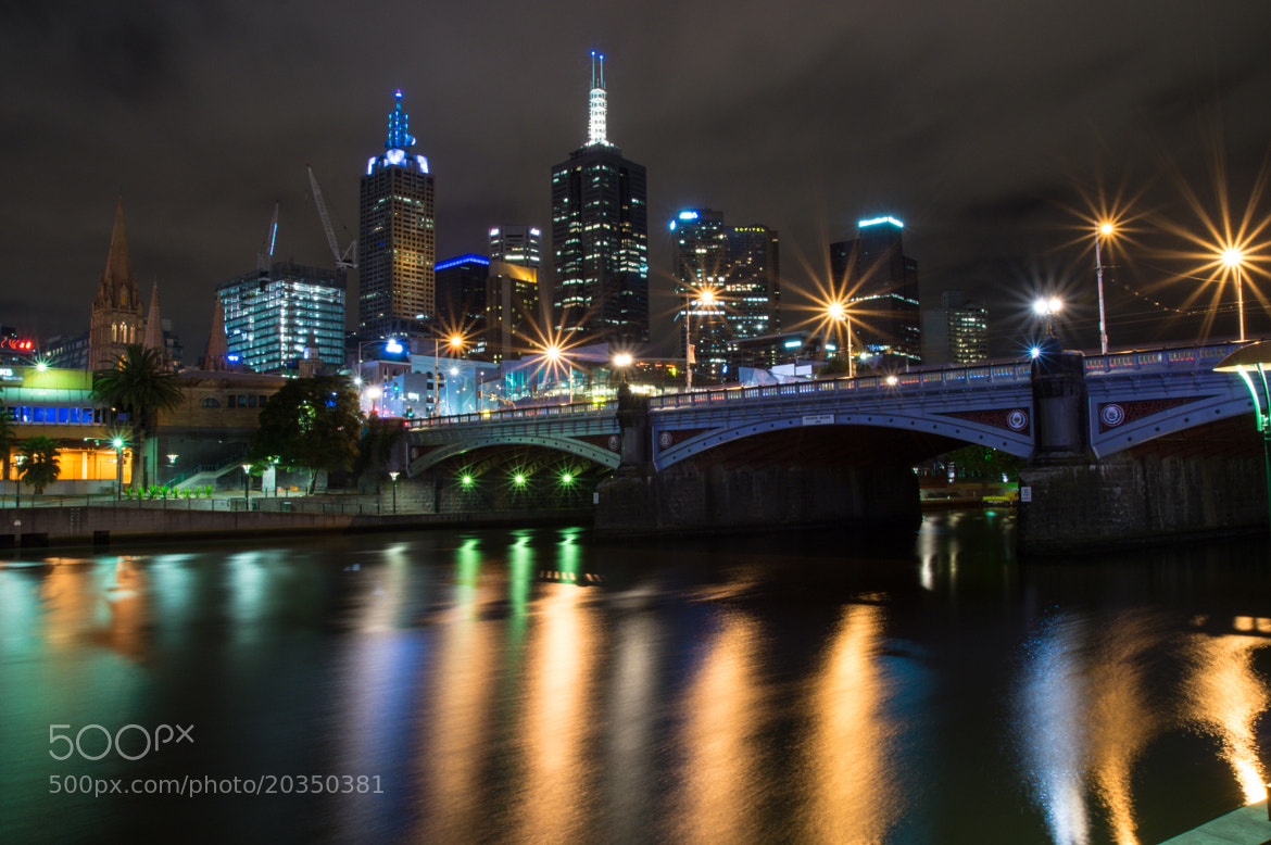Photograph The other side of Princess Bridge by Pat Charles on 500px