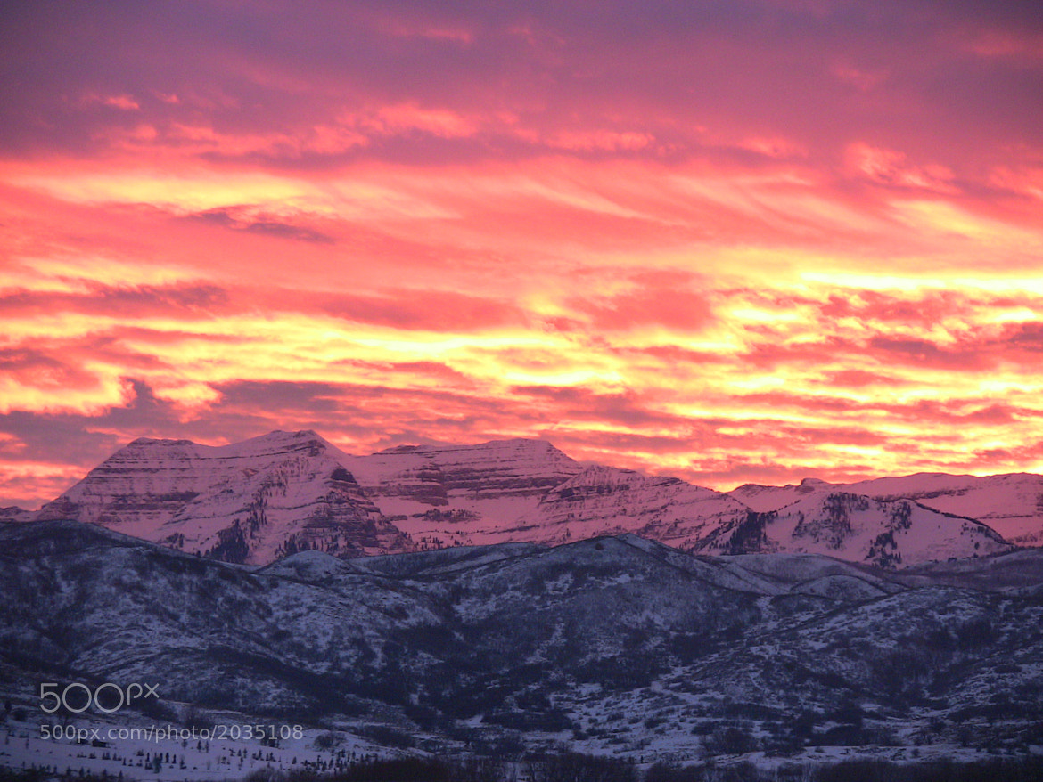 Photograph Sunset Over Mount Timpanogos by Christian Madsen on 500px