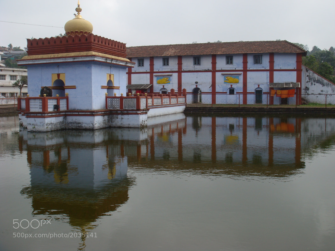 Photograph temple and its unique reflection by Eashwar Erahan on 500px