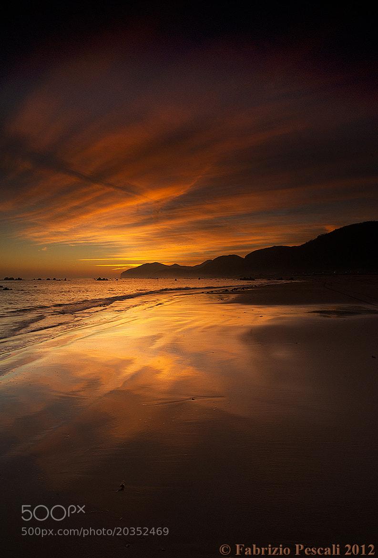 Photograph Red Sunrise - www.fabriziopescali.com by Fabrizio Pescali on 500px