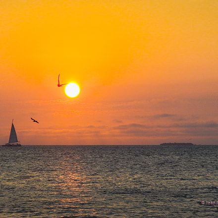 SUNSET IN KEY WEST, Nikon COOLPIX AW110