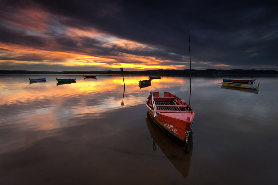 Photograph The Red Boat by Hugo Borges on 500px