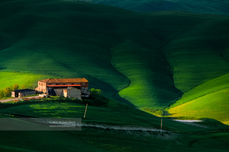 Photograph Tuscany Landscape (May 2005) by michele berti on 500px