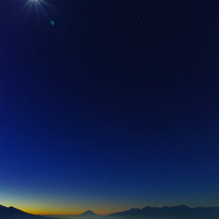 Moon Star and mountains, Pentax K-5 II S, smc PENTAX-DA 17-70mm F4 AL [IF] SDM