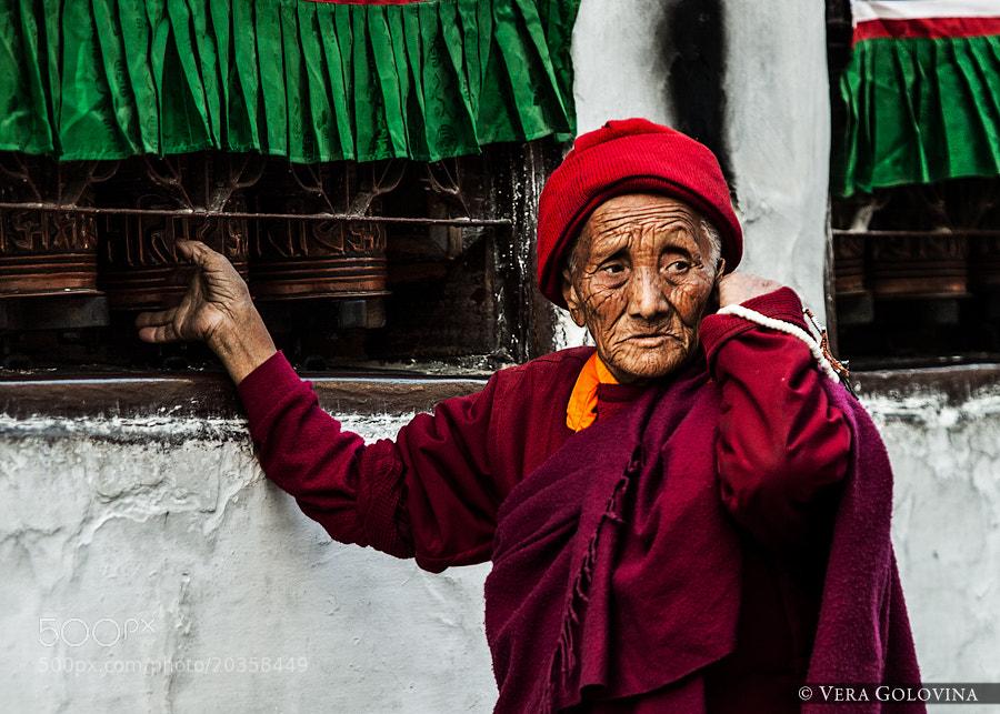 Photograph Elderly Nun by Vera Golovina on 500px