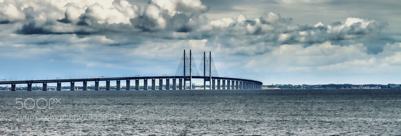 Photograph The Bridge Oresund by Rabih Mohamad on 500px