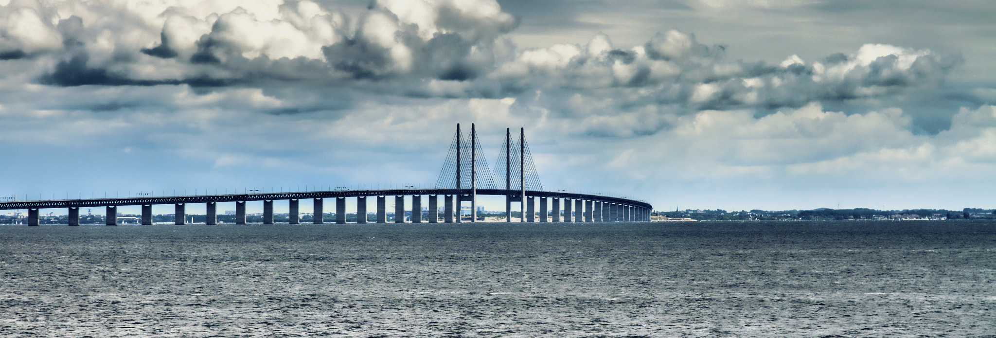 Photograph The Bridge Oresund by Rabih Mohamad on 500px