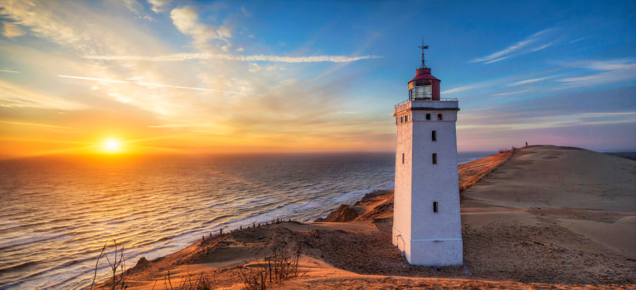 Rubjerg Knude Lighthouse by Martin Worsøe Jensen on 500px.com