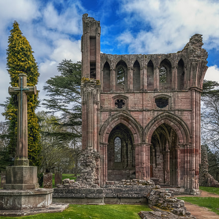 Dryburgh Abbey in Scotland