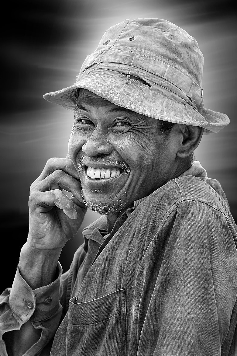 Photograph sincere smile by Uda Dennie on 500px