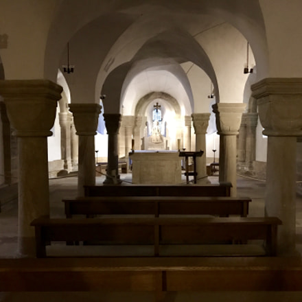 Crypt in the Fritzlar Cathedral