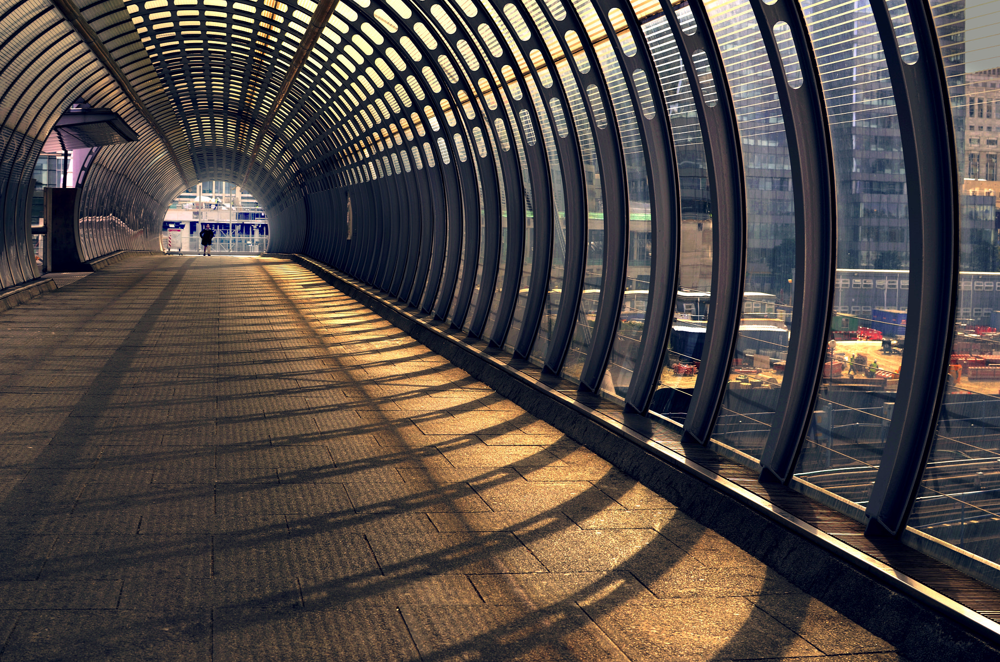 Photograph within the structure by M  on 500px