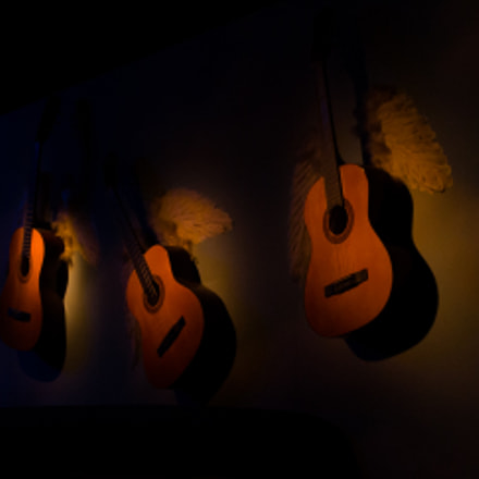 Guitars, Canon EOS 70D, Canon EF 24mm f/2.8 IS USM