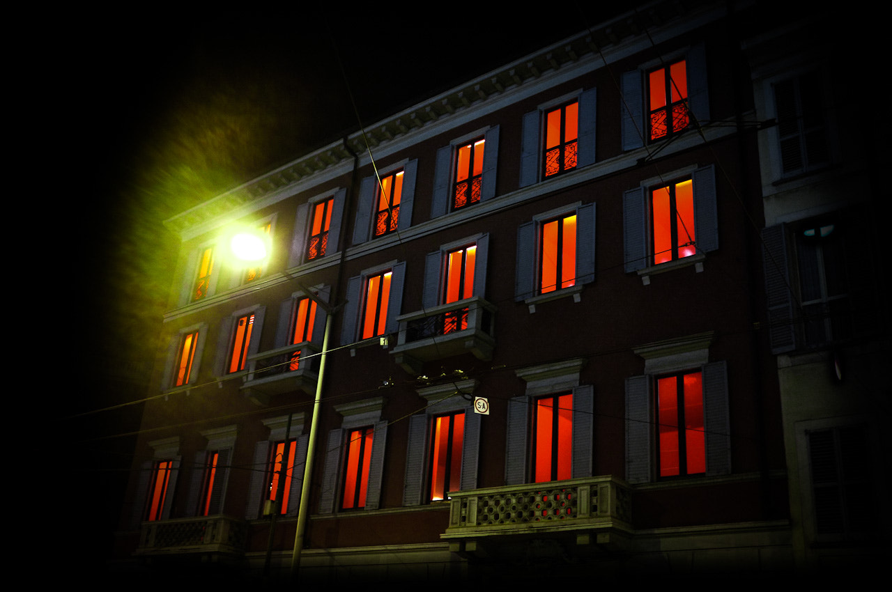 Photograph The House with red eyes by Simone Messaggi on 500px