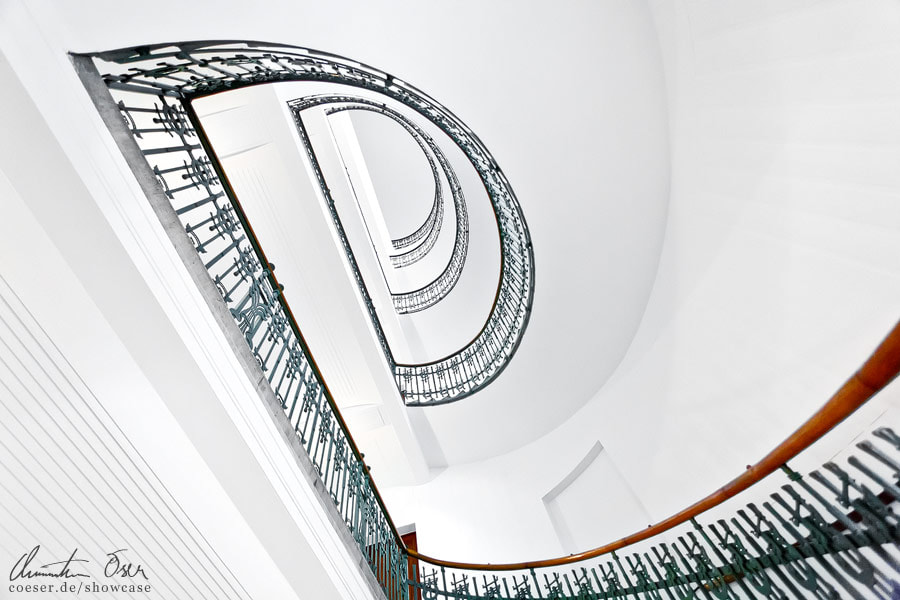 Photograph Otto Wagner Stairs 2 by Christian Öser on 500px