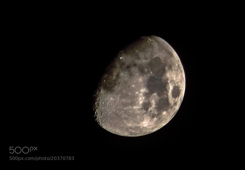 Photograph Moon by Prashant Gupta on 500px